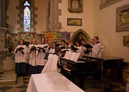 Choir piano