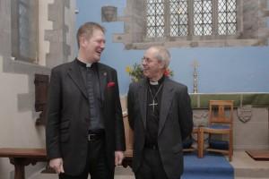 J with Archbishop